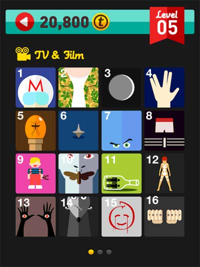 Iconpopquiz cheats and solutions icon pop quiz tv film for Pop quiz tv show