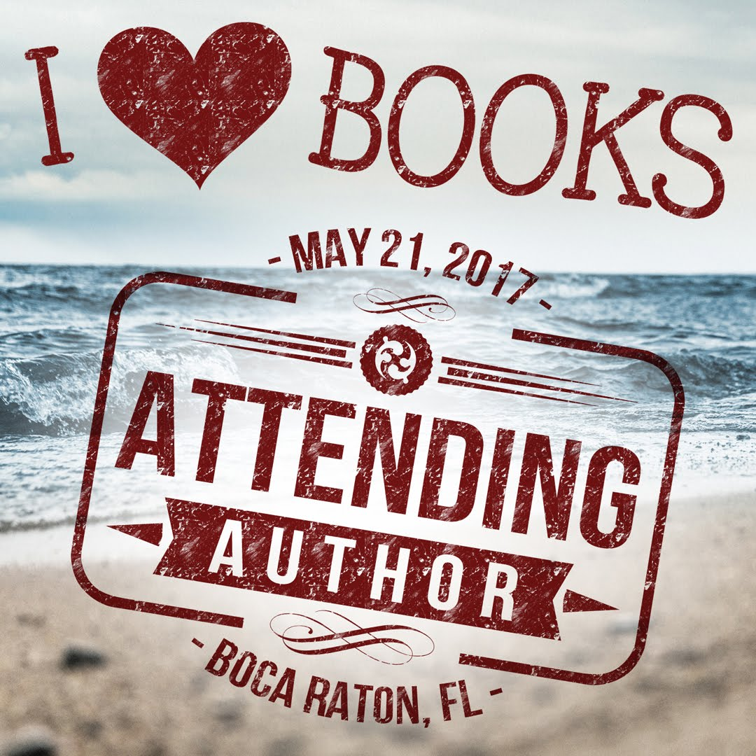 ~ I ❤ BOOKS EVENT ~  LAKESIDE TERRACE  BOCA RATON, FL