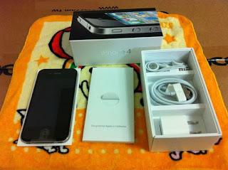 阿布洛格 iPhone4 正面及內容物