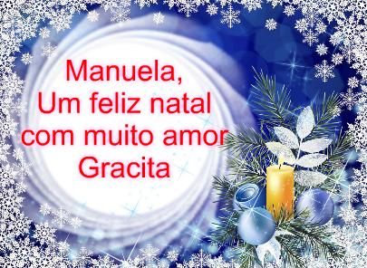 Feliz Natal, Gracita!