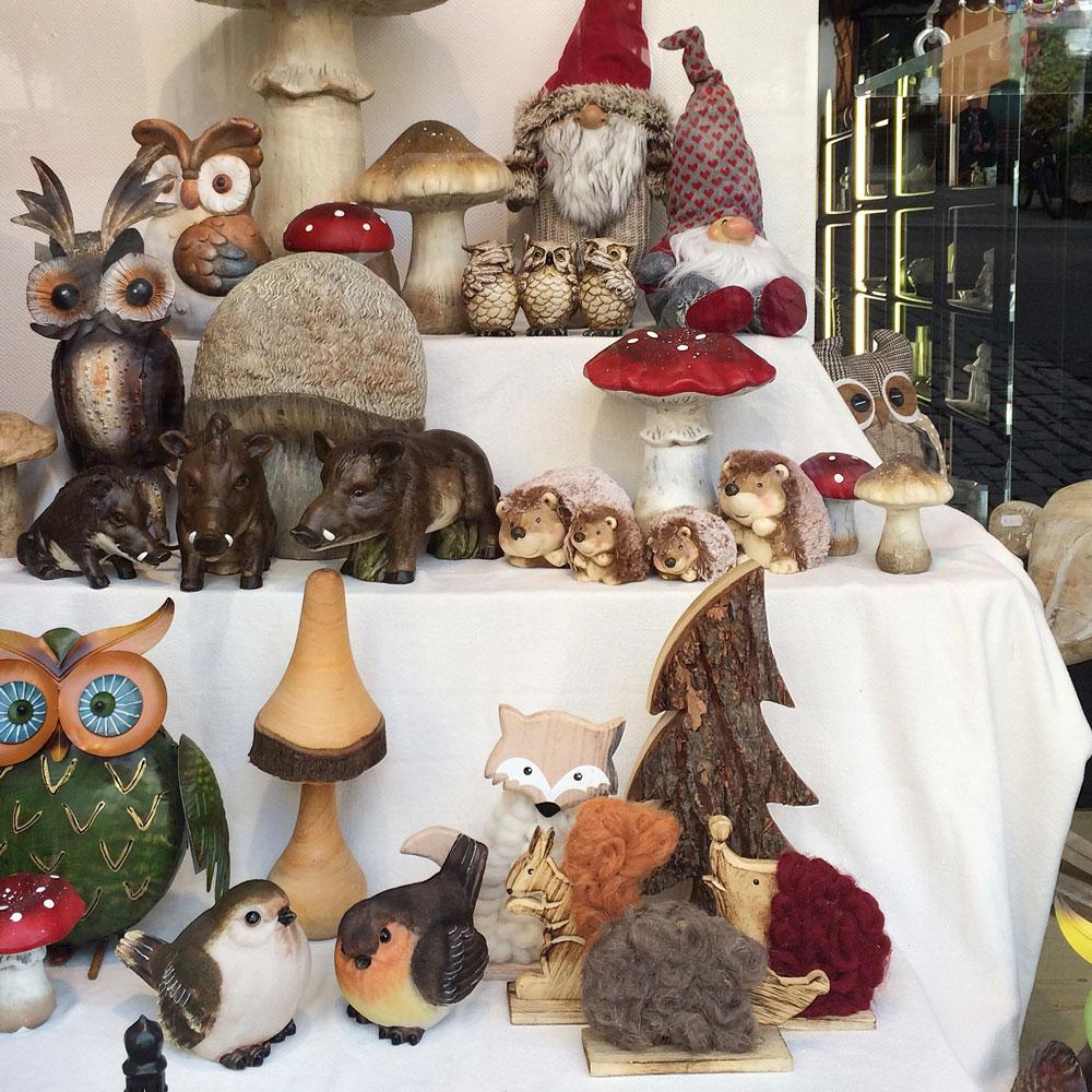 Сувенирный магазин в Ротенбурге-На-Таубере