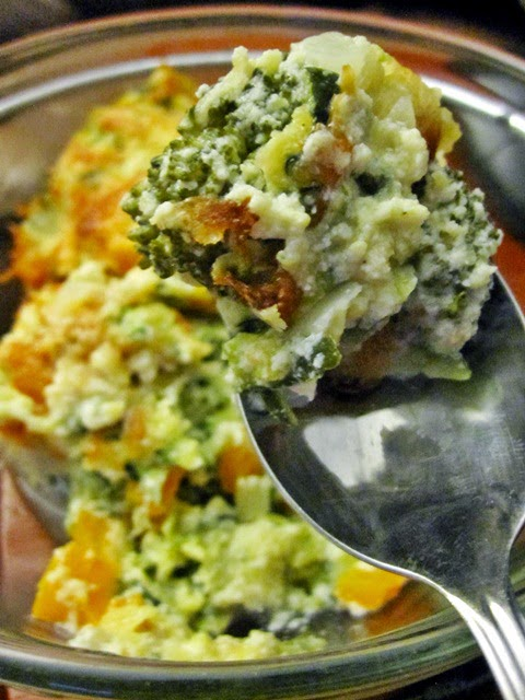 ZUCCHINI AND BROCCOLI CASSEROLE Recipe
