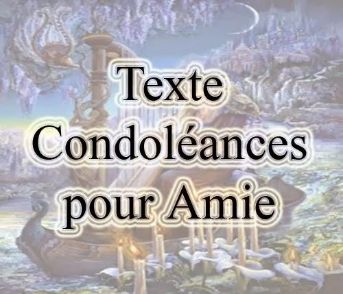 Texte Pour Une Amie Décédée Texte de Condoléances Pour Une