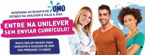 """Processo Seletivo Unilever  - """"Unigame Brasil"""""""
