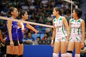 UAAP 74 Women's Volleyball Finals: ADMU vs DLSU Game 2