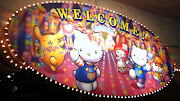 The home of Hello Kitty and Sanrio ultra cute characters is an indoor theme .