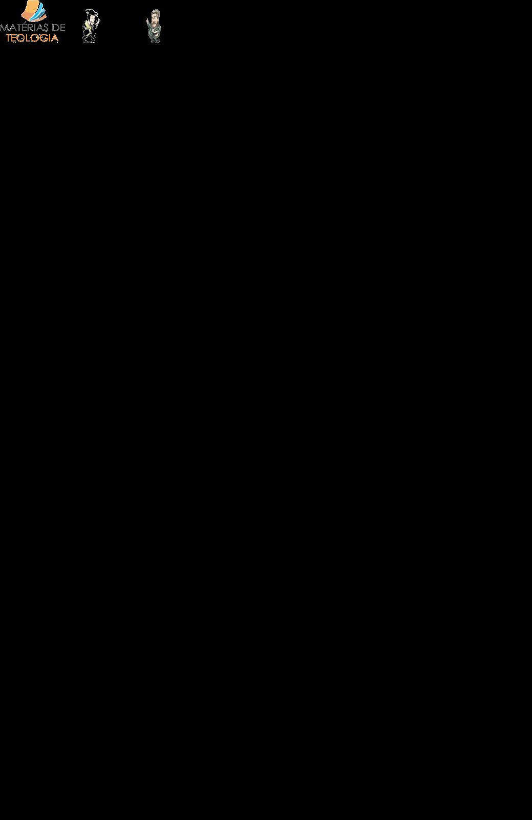 MATÉRIAS DE TEOLOGIA