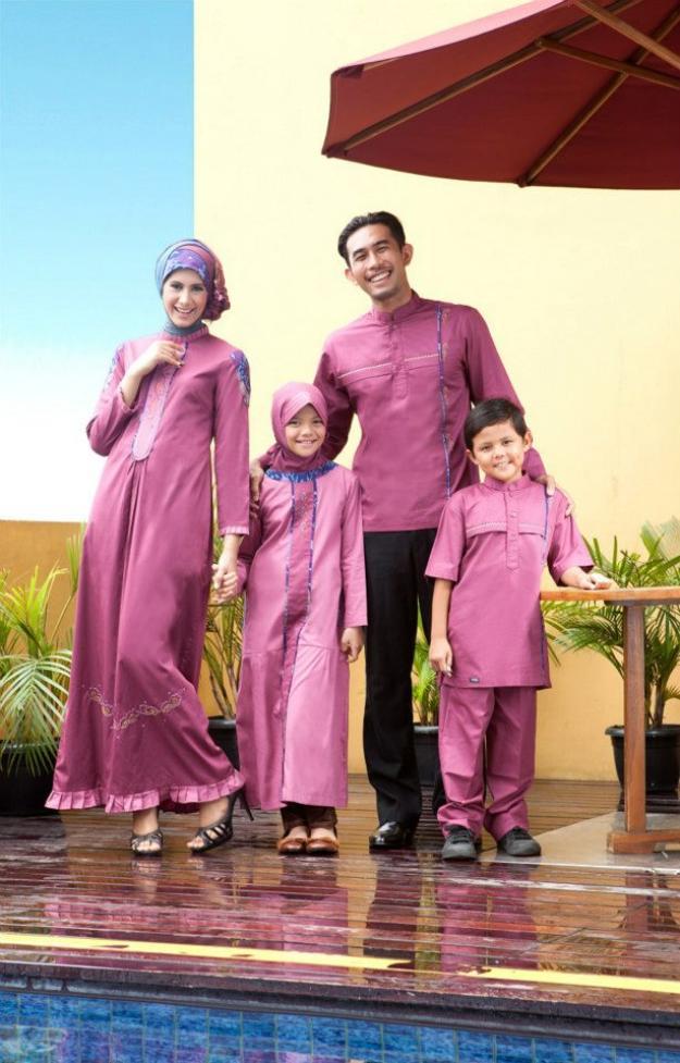 Busana muslim hari raya 2013 tutorial hijab lengkap Jual baju gamis couple 2015