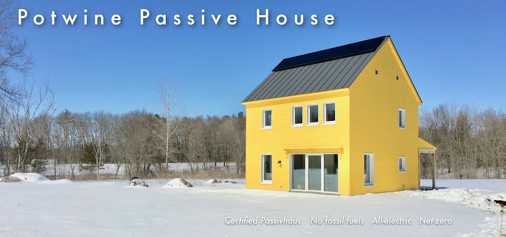 Potwine Passive House Blog