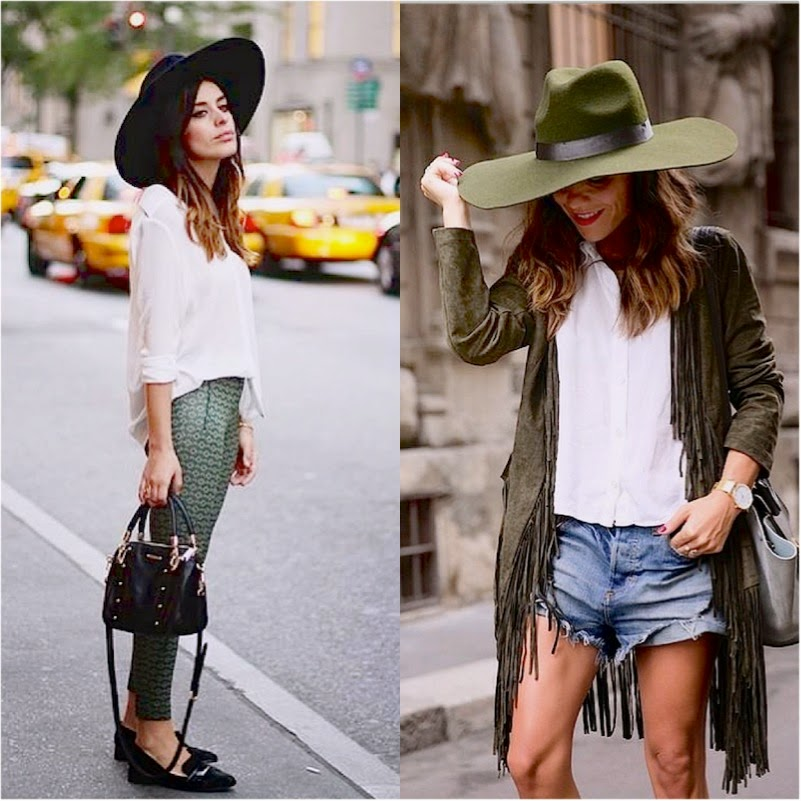 looks com chapéu