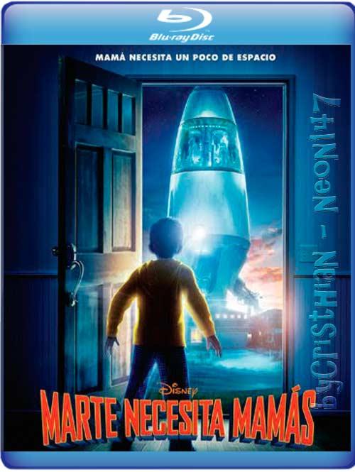 Marte Necesita Mamás (Español Latino) (BRrip) (Audio AC3) (2011) (partes de 250 MB y 1 LINK) (Mirrors)