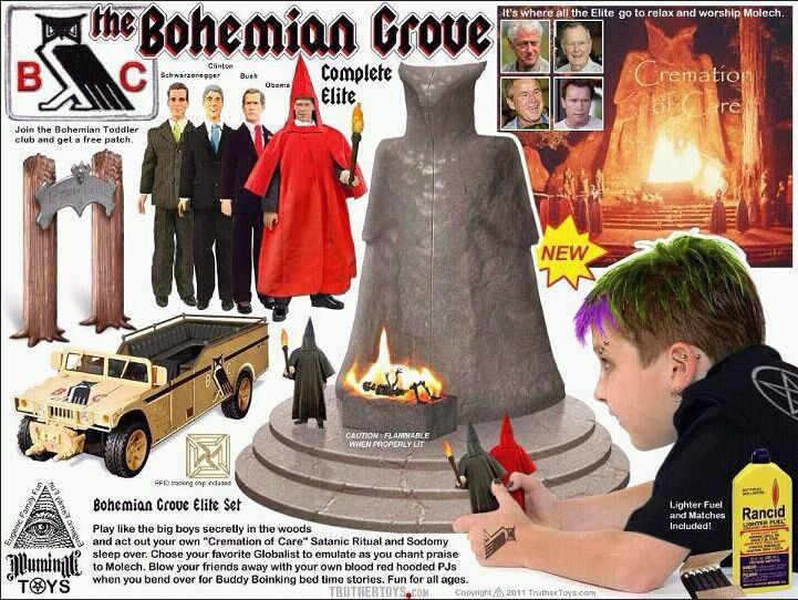 Sex stories at the bohemian grove