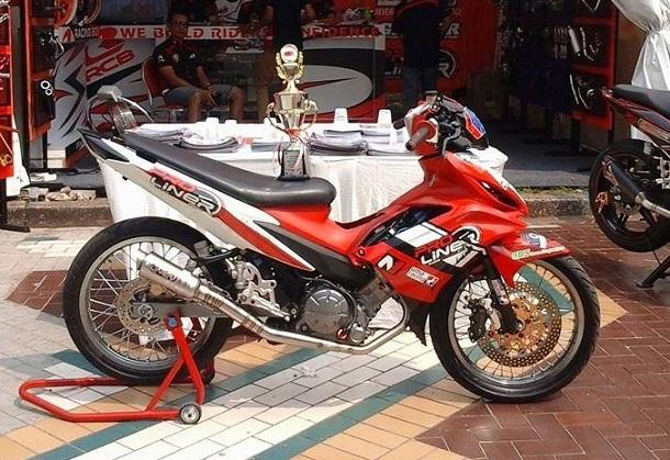 Motor Jupiter z Modifikasi Road Race Modifikasi Ala Road Race