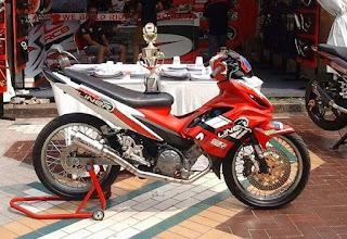 Modifikasi Ala Road Race Yamaha New Jupiter Mx