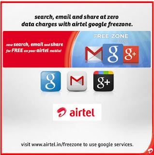 airtel free zone