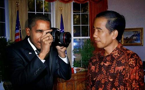 15 Foto Jokowi Sentuhan Dewa Photoshop 2