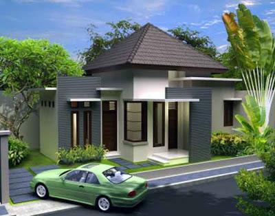desain rumah tinggal minimalis 2