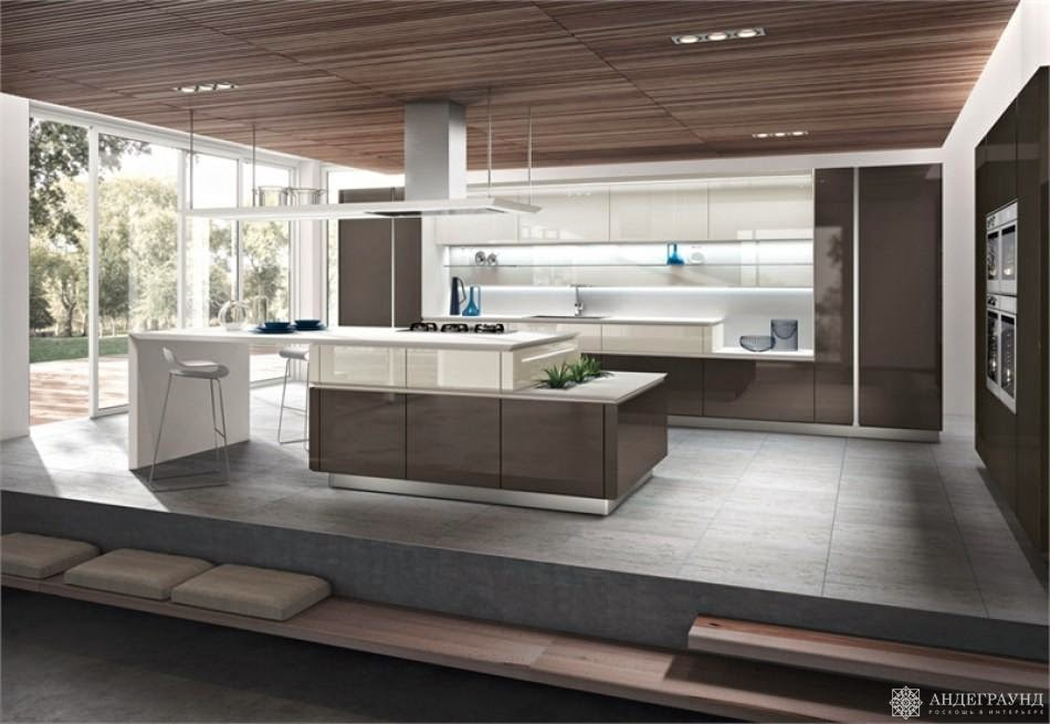 The Average Kitchen Size Is 5 X 4 Metres, Of Course It Could Also Be  Applied In Homes That Are Not Too Large. Hereu0027s Some Pictures Of American  Style Kitchen ...