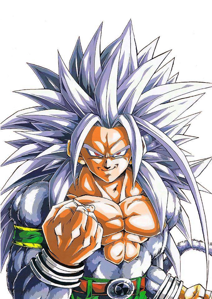 Dragon ball af after the future august 2011 - Goku super sayan 5 ...