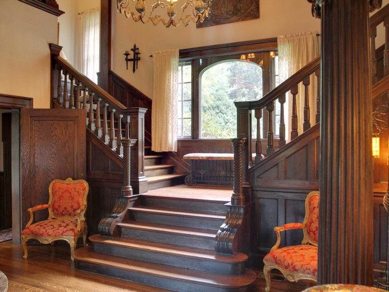 Victorian Mansion Foyer : Victorian gothic interior style and rooms