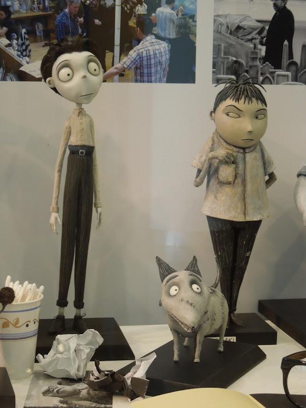Frankenweenie stopmotion puppets