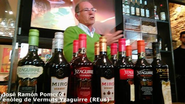 José Ramón Pomerol - vermuts Yzaguirre - GanxetesTour2015 Reus