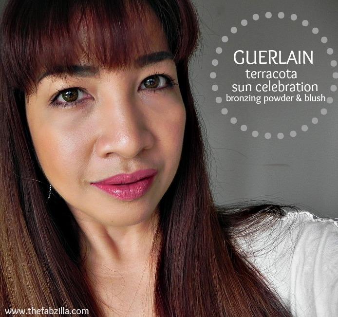 guerlain terracotta sun celebration bronzing powder and blush 30th anniversary edition, review, swatch, americaln idol makeup, jennifer lopez