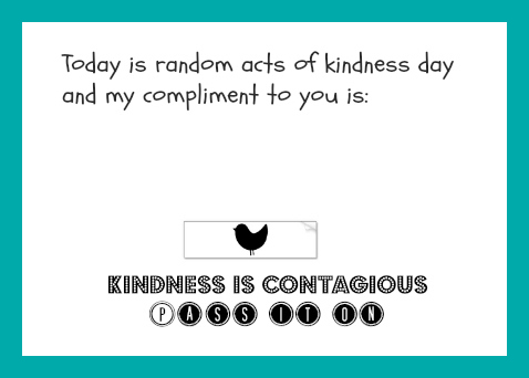write an essay about an act of kindness
