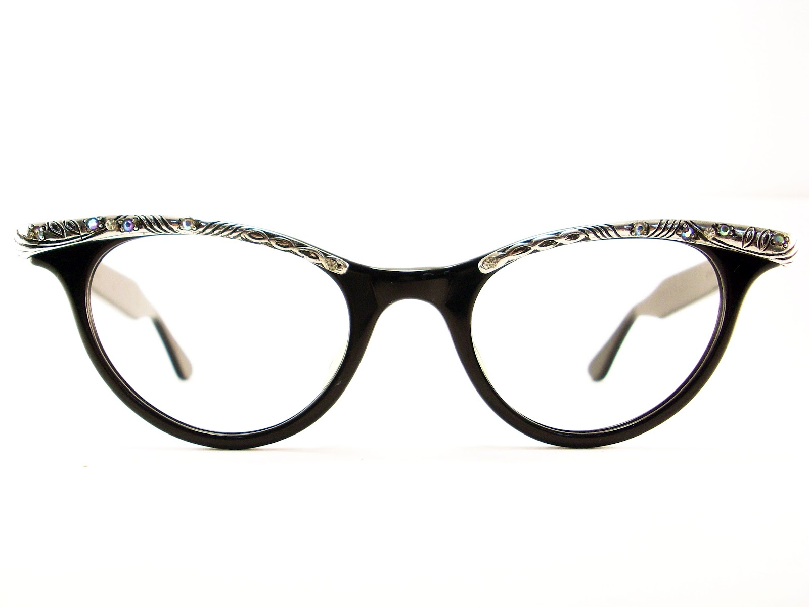 vintage cat eye glasses frame eyeglasses