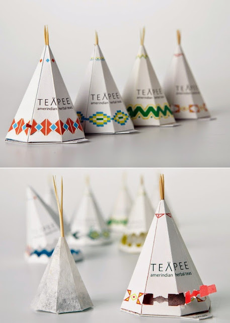 Inspiration Iscomigoo Webdesign: Packaging Thé