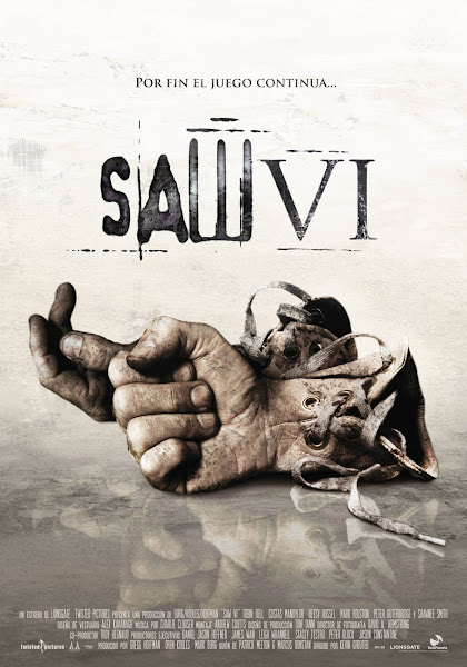 Poster of Saw VI 2009 UnRated 720p BRRip English