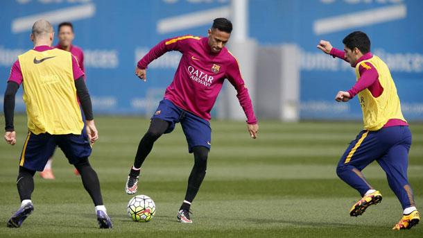 El Barça se entrenó este miércoles preparando el partido ante el Rayo
