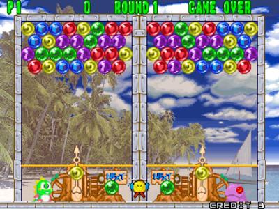 街機:魔法泡泡龍1、2、3、4全系列合集+金手指作弊碼下載,經典可愛泡泡龍消除遊戲!