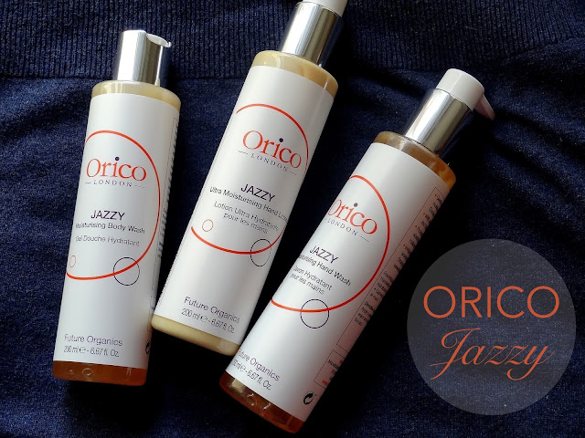 Orico Jazzy Moisturizing Body Wash, Hand Wash and Ultra Moisturizing Hand Lotion