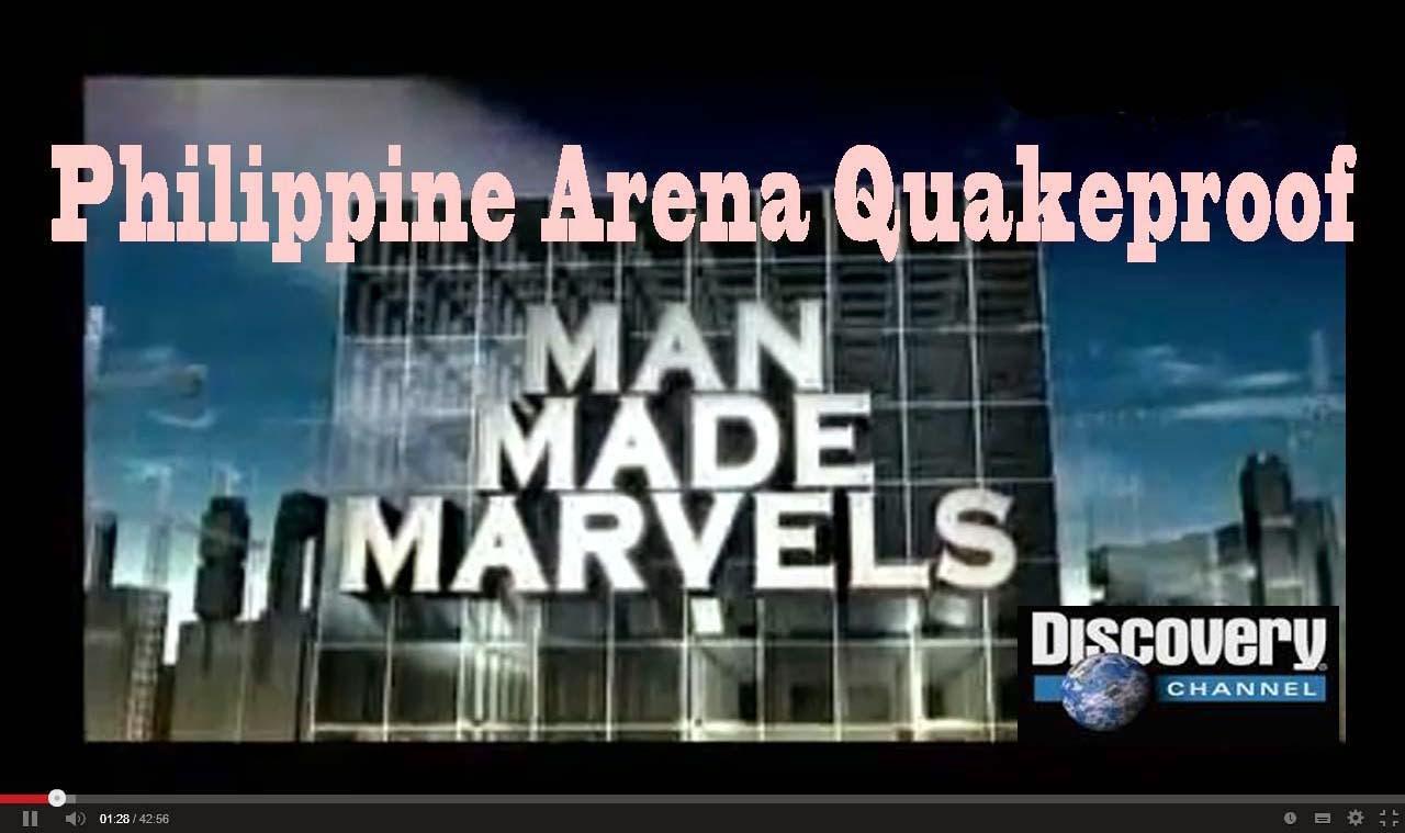 philippine arena quakeproof