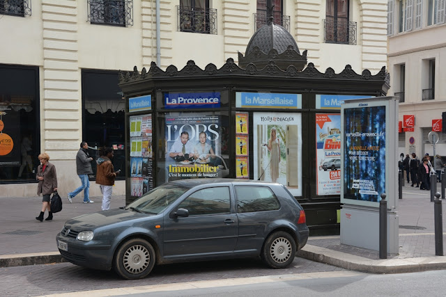 Marseille kiosk