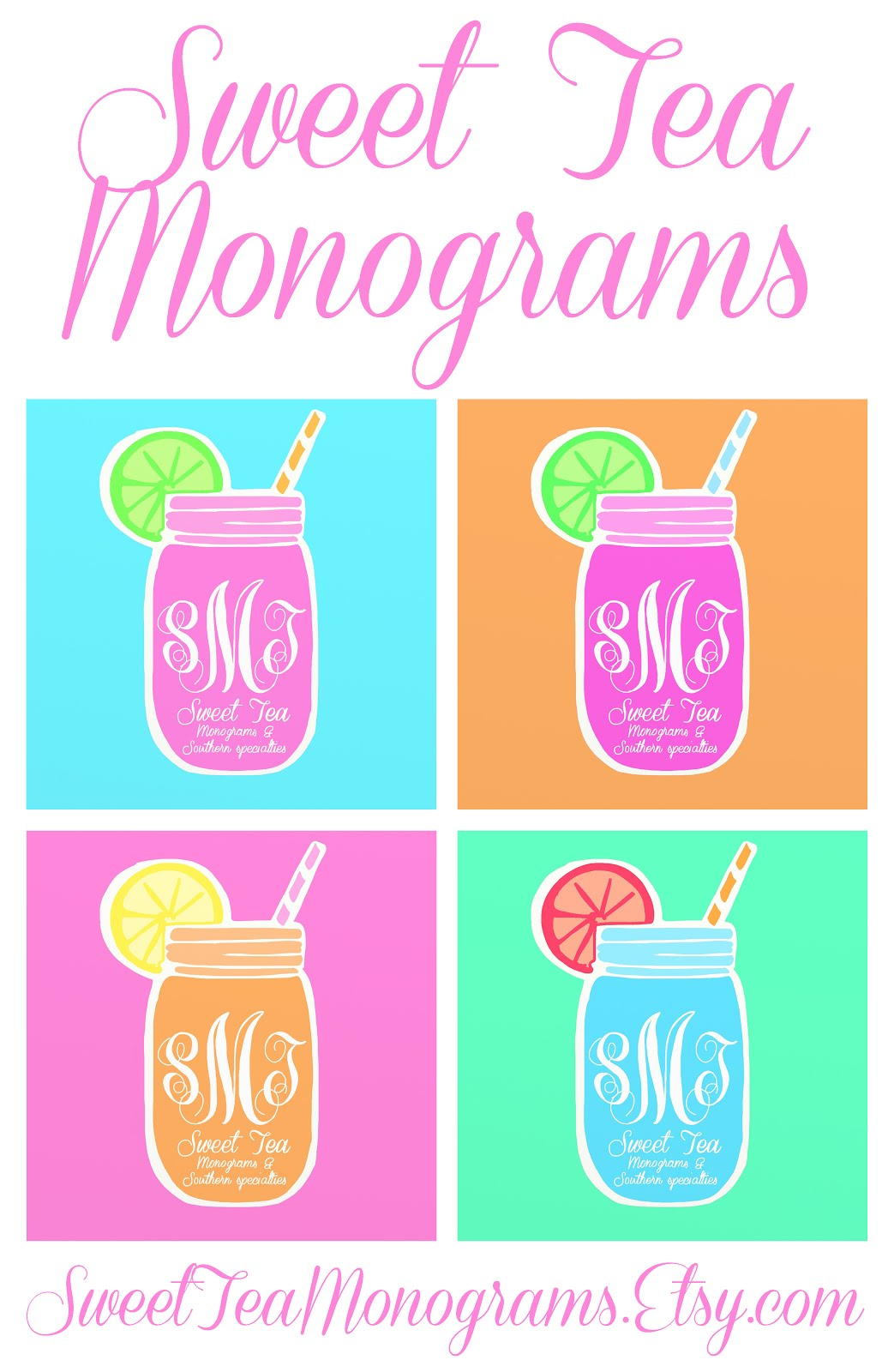 Sweet Tea Monograms