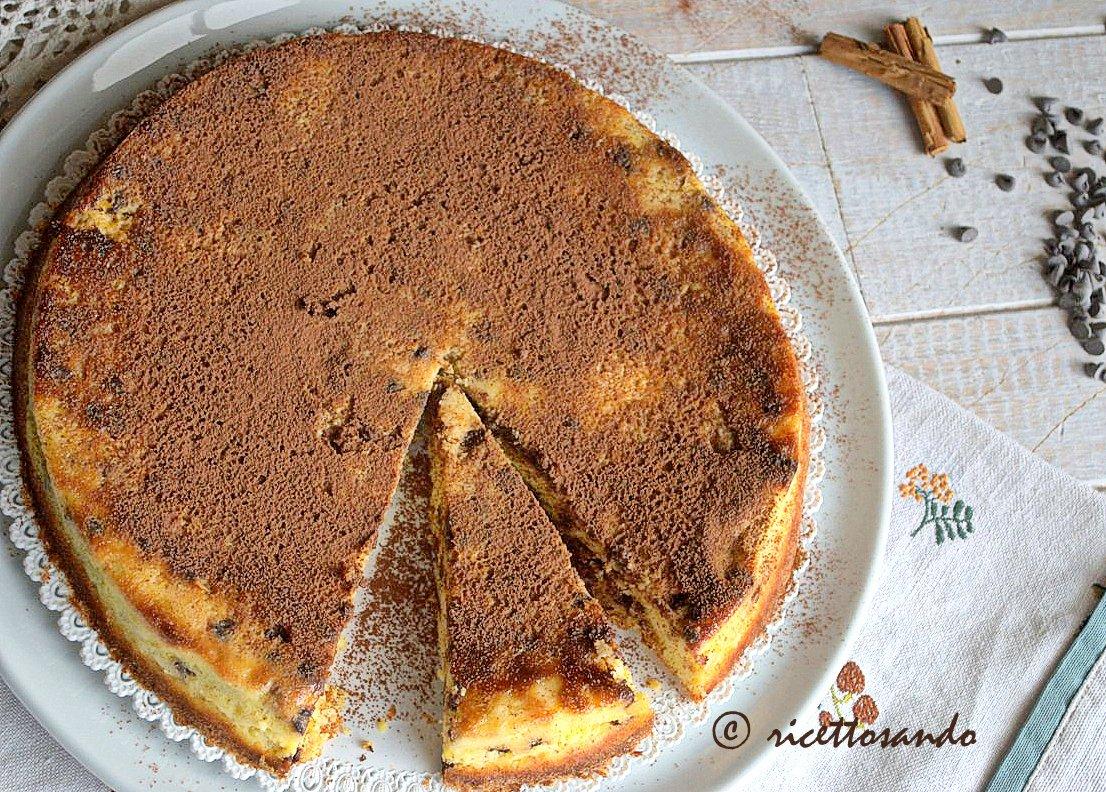 Pizza dolce di Toritto ricetta dolce di ricotta e cioccolato