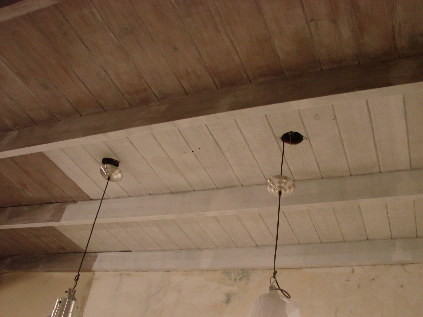 Decorando antes y despu s comedor diario - Techos de madera blanco ...