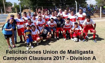 Torneo Clausura 2017 - Div A