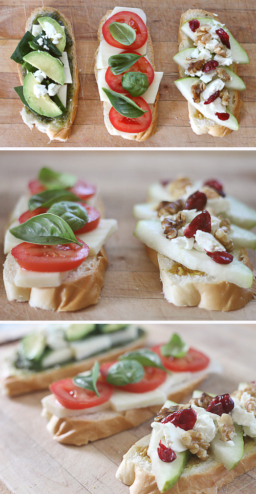 Three Grilled Cheese Recipes