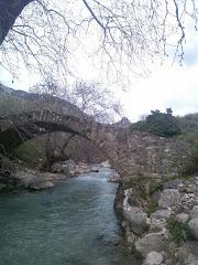 Το κάστρο της Οχιάς και ο Πηνειός ποταμός στην Ορεινή Ηλεία !