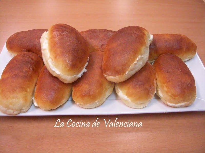 La cocina de valenciana bollos de mantequilla de bilbao for Cocina valenciana