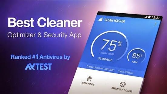 Clean Master Best Junk File Cleaner