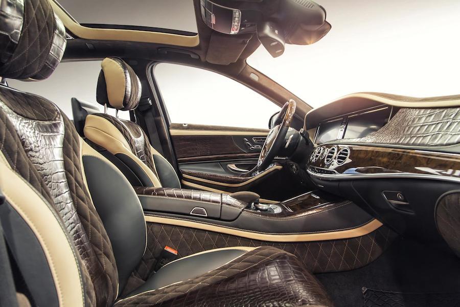 その高級車は強い!新型のメルセデスベンツSクラスをイカツくカスタムしたモデルが登場