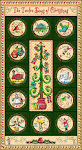 My Newest Fabric Line- The Twelve Days of Christmas
