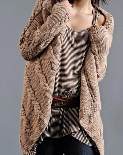 Yeni Moda Bayan Kışlık Hırka Modelleri