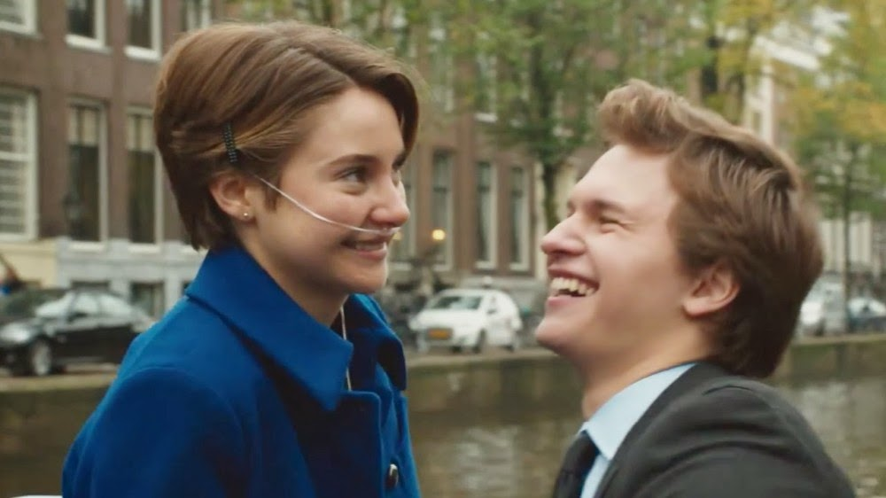 The Fault in our Stars u2013 Shailene Woodley and Ansel Elgort ...