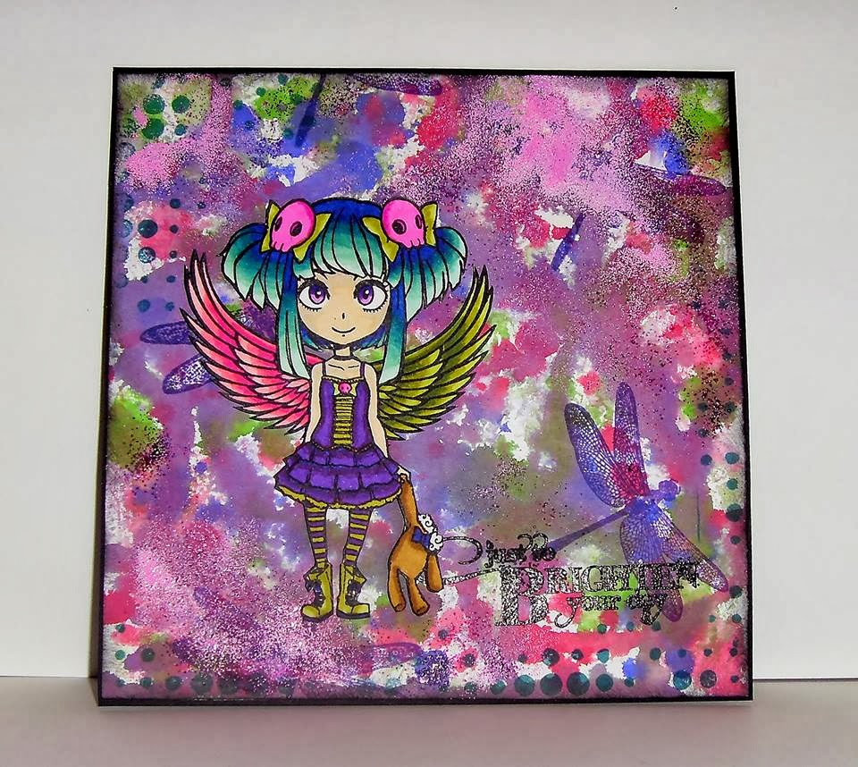 girl character stamp visible image stamps