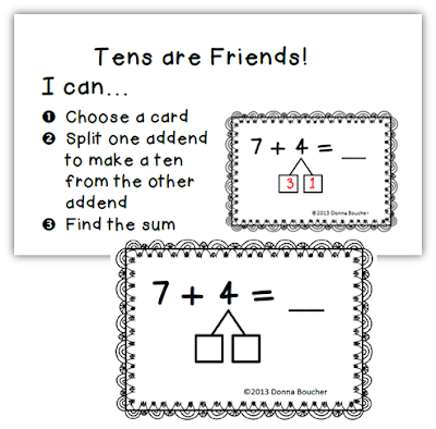 Addition worksheets making 10